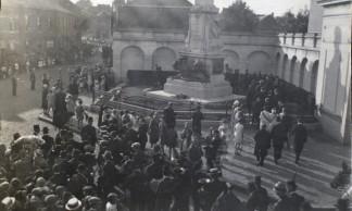 Inauguration-monument-aux-combattants-14-18-Monceau-sur-Sambre